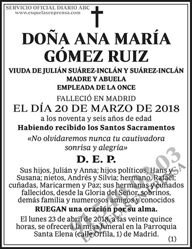 Ana María Gómez Ruiz